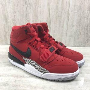 Nike Air Jordan Legacy 312 High Top Varsity Red